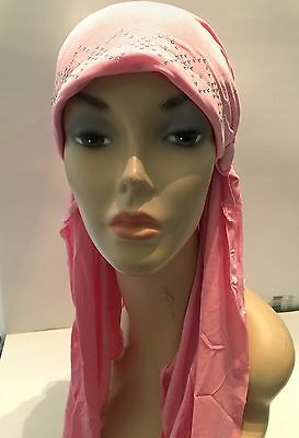 Pink Girls Muslim Islamic Hijab