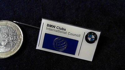 BMW Clubs International Council Brosche kein Pin Badge