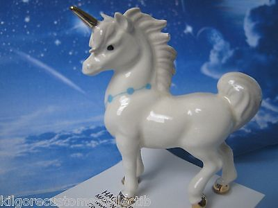 Hagen Renaker Papa Unicorn Figurine Mythical Ceramic Miniature  FREE SHIP NEW