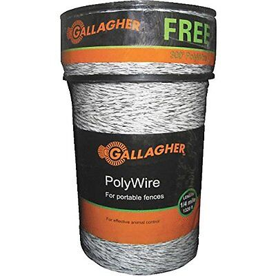 Gallagher G620300 Electric Polywire Fence Combo Roll, 1320-Feet (+ 328' FREE)...