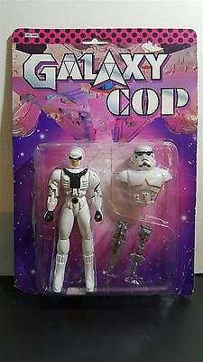 Ultra Rare Star Wars Chinese Bootleg Storm Trooper Galaxy Cop Very Old!