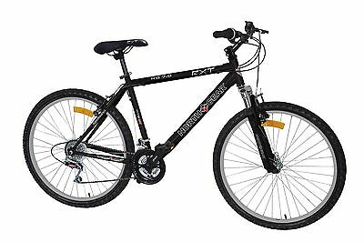 "New North Gear Rxt Mens Adults 19""/26"" Mountain Bike With 18 Speed Shimano Gears"