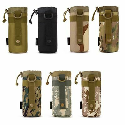 Sport Water Bottle Pouch Military Tactical Molle Water Bottle Pouch Kettle Pack