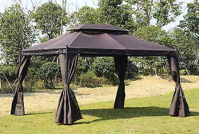 Gazebo Marquee Tent Outdoor Garden Party Wedding Events Canopy Pavilion 3x4 M