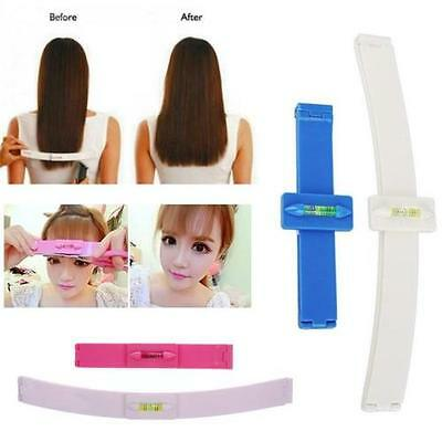 Professional Bang Hair Trim Cutting Clip Comb Hairstyle Typing Tool Fashion UK