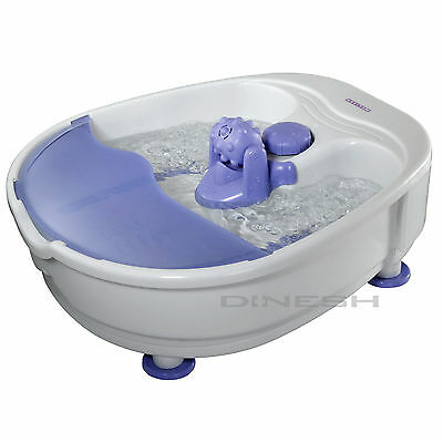 (006) Melissa Bubbling Foot bath foot bath with Air bubbles and Massage Footbath