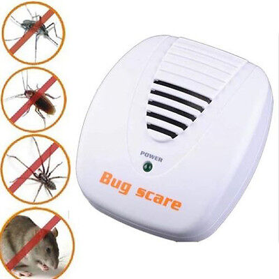 Plug In Electronic Ultrasonic Mice Mouse Rodent Spider Ant Repeller Pest Control