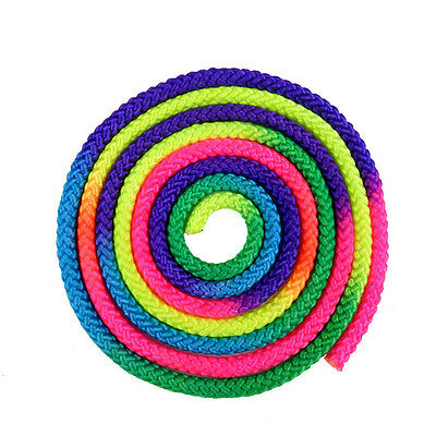 Approved Gepruft Gymnastic Rope Rainbow Color Training Equipment Suppliers