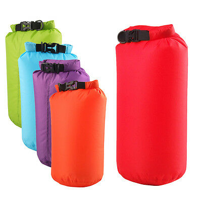 8L Outdoor Waterproof Canoe Swimming Camping Pretty Backpack Dry Bag Pouch