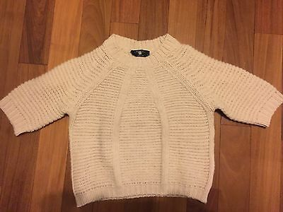 MaxMara Weekend Girls 100% Wool Sweater Size S (5-6) Made in Italy