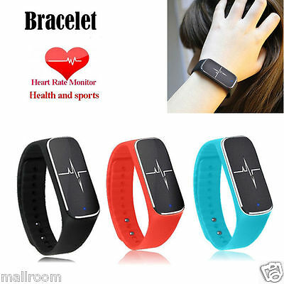 Bracelet Smart Watch Uhr Blood Pressure Sports Fitness Bluetooth For iOS Android