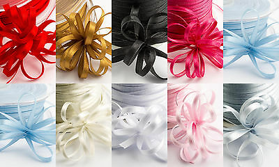 3mm Satin Pull - Bow Ribbon 100Yds  - Wedding Favour Boxes Gift