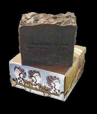 CARIA Pine Tar Olive Oil Soap Bars All Natural Turkish with Cocoa Butter Vegan