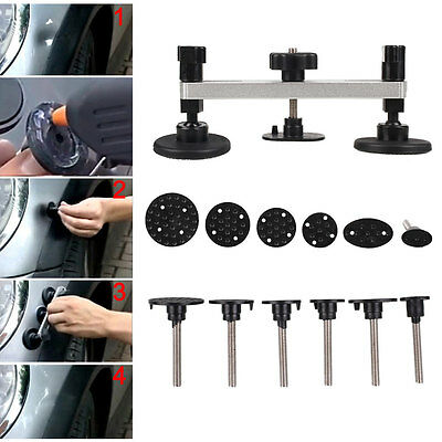 Auto Car Vehicle Paintless Damage Dent Easy Repair Removal Tools Set Kit