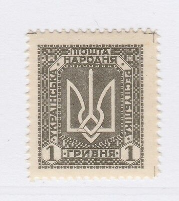 A2P44 UKRAINE NOT ISSUED STAMP 1920 1g MH* #18