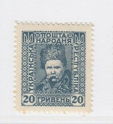A2P44 UKRAINE NOT ISSUED STAMP 1920 20g MH* #42