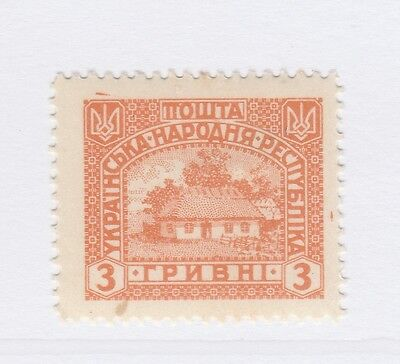 A2P44 UKRAINE NOT ISSUED STAMP 1920 3g MH* #20