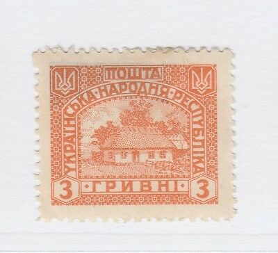 A2P44 UKRAINE NOT ISSUED STAMP 1920 3g MH* #22