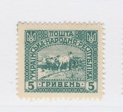 A2P44 UKRAINE NOT ISSUED STAMP 1920 5g MH* #24