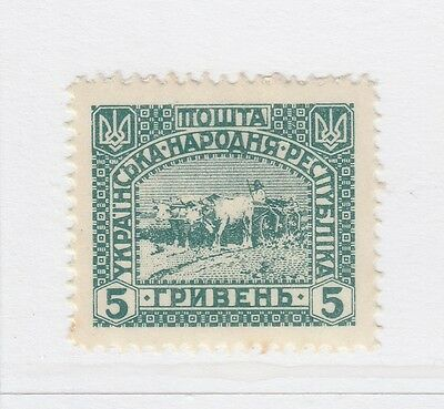 A2P44 UKRAINE NOT ISSUED STAMP 1920 5g MH* #26