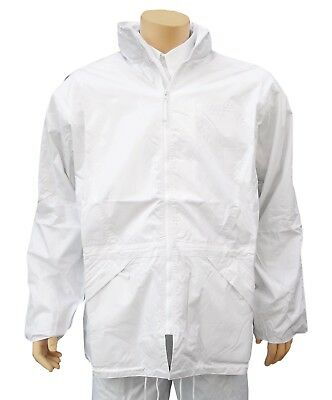 CATHEDRAL Duraproof Lined Jacket Mens Coat S - XXXXL Bowls 100% Waterproof White