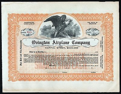 19__ Ovington Airplane Company