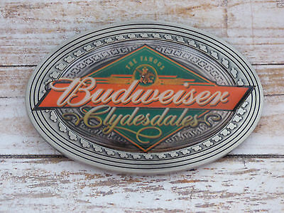 Budweiser Anheuser Clydesdales Retro Advertising Vintage Belt Buckle