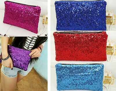 New Fashion Style Women's Sparkle Spangle Clutch Evening/Wedding/Party Bag