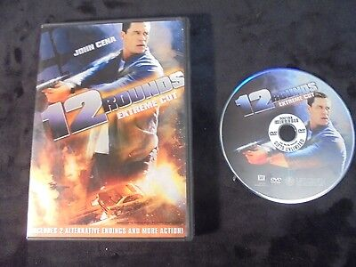 """USED DVD Movie """"12 Rounds"""" Extreme Cut"""