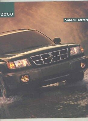 2000 Subaru Forester Brochure my6537