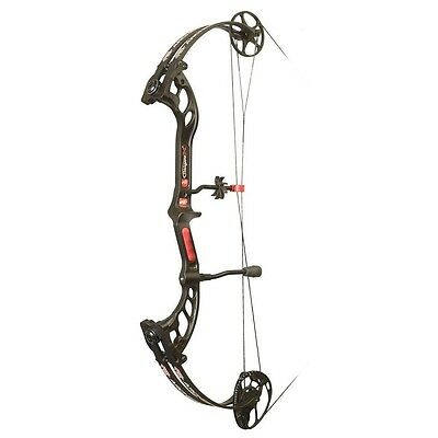 New 2016 PSE Stinger X Compound Bow 70# Right Hand Black