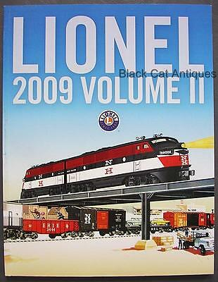Original 2009 Lionel Model Trains & Accessories Catalog Volume II - with Prices