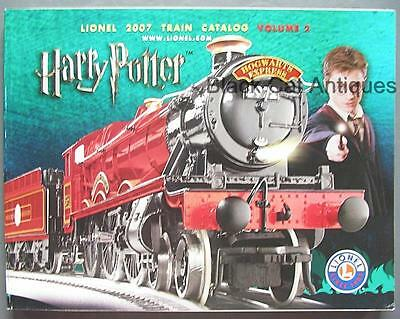 2007 Lionel Model Trains & Accessories Harry Potter Catalog Vol. 2 - with Prices