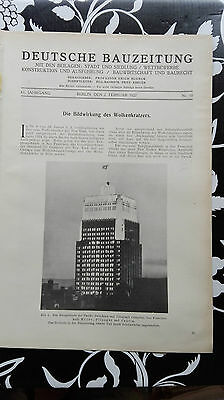 1927 10 USA New York San Francisco Wolkenkratzer