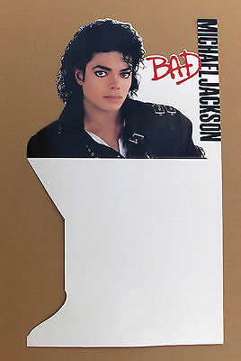 (CD) MICHAEL JACKSON - Bad Counter Standee? / PROMO