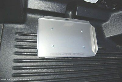 Stainless Steel Dual Battery Tray / MINUS BOX suits Mazda BT50 & Ford PX Ranger