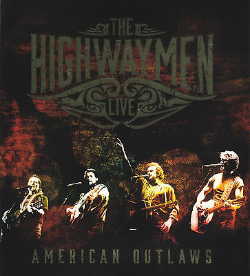 Highwaymen ( 3 Cd + Blu-Ray ) Live American Outlaws ~All Regions 5.1 The *New*