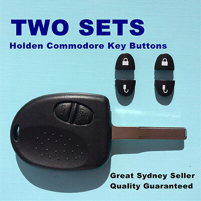 2X 2 KEY BUTTONS for HOLDEN COMMODORE VS VT VU VX VY VZ WH WK