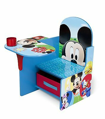 Delta Children Chair Desk With Storage Bin, Disney Mickey Mouse,[TC85664MM] NEW
