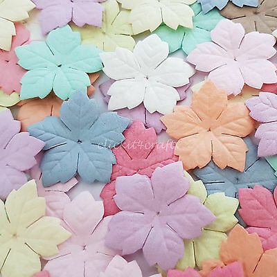 500 Paper Flower Petals Scrapbook Cardmaking Birthday craft supply P40-426