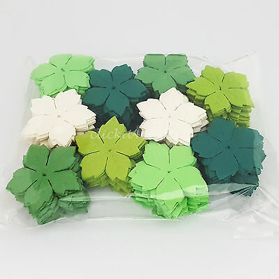 500 Paper Flower Petals Scrapbook Cardmaking Birthday craft supply P40-839