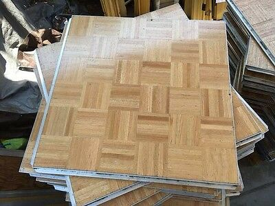 90 Piece 810 Square Foot Portable Wood Dance Floor