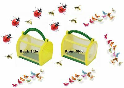 Garden Insect Cage Toys Catch Butterfly Kids Outdoor Educational Farm Hatching