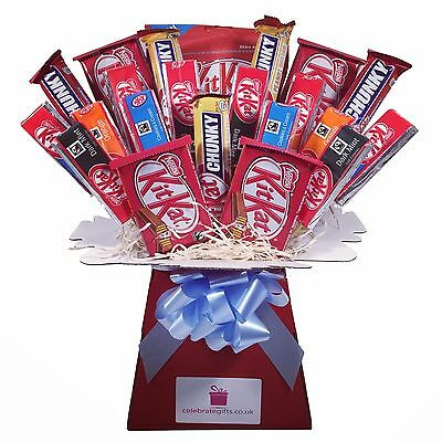 Kit Kat Chocolate Bouquet - Sweet Hamper Tree - Perfect Gift