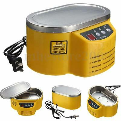 Stainless Steel Ultrasonic Cleaner For Jewelry Glasses Circuit Board Watch CD