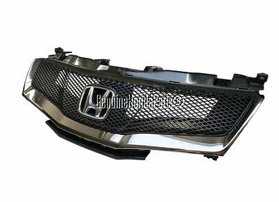 Genuine Honda Civic 2006-2011 Sports Grille Mesh Grille Dark Chrome Type-S