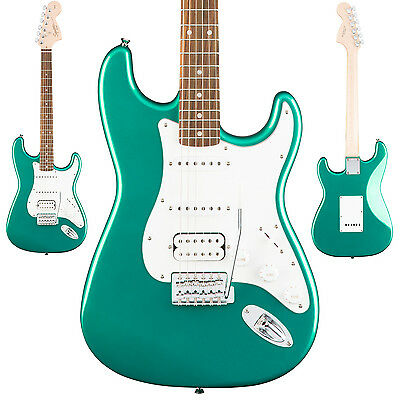 Squier Affinity Series Stratocaster HSS Electric Guitar Race Green Finish - NEW!
