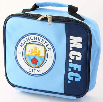 Manchester City FC Wordmark Insulated Lunch Bag/Box | MCFC | Lunchbox