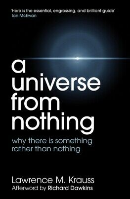 A Universe from Nothing by Lawrence M. Krauss (Paperback) New Book