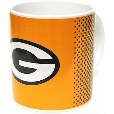 Green Bay Packers - Fade Logo Ceramic Mug - New & Official NFL In Box